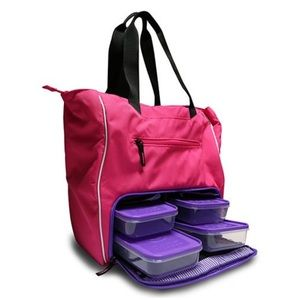 6 pack fitness tote bag